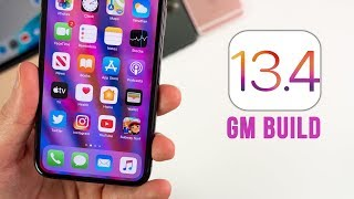 iOS 13.4 GM Released - What's New?