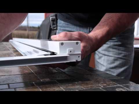 Moustiquaire r tractable novavision porte double doovi - Comment installer une porte moustiquaire ...