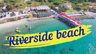Северный Кипр Riverside beach Пляж Риверсайд Северныйкипр отель отдых ТРСК пляж Кирения