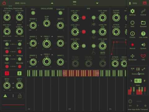 mood Synth 1.1 Musical Scales