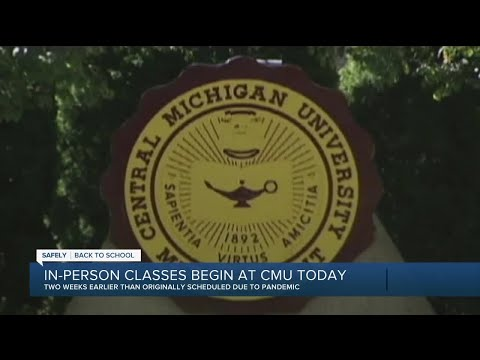 In-person Classes Begin At Central Michigan University
