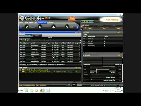 KRChoksey I Trade Live Demo