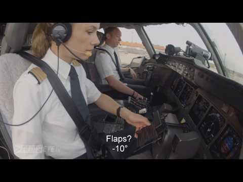 Pilotseye.tv - Lufthansa Cargo MD-11 - Departure from Sao Paulo [English Subtitles]