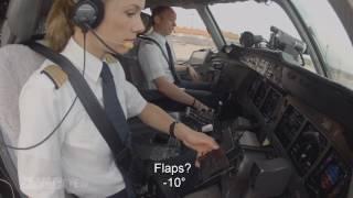 Pilotseye.tv - Lufthansa Cargo MD-11 - Departure from Sao Paulo English Subtitles