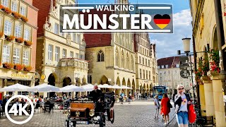 [4K] Walk in Münster City Germany 2020 - Bicycle Capital Tour