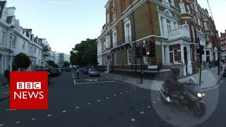 Knightsbridge 'acid attack': Police release video of suspects- BBC News