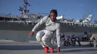 AROD in San Diego, Freestyle Session   YAK FILMS