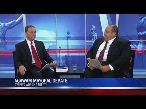 Agawam mayoral candidates debate on 22News