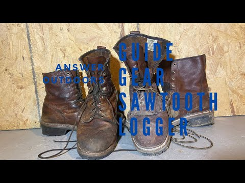 Guide Gear  Sawtooth Review- The Best Loggers Boots For The Money