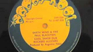 "PAUL BLACKMAN - Earth Wind & Fire - reggae dub 12"" single"