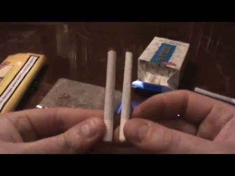 tutorial come fare sigarette con macchinetta e regolazione diametro youtube