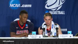 McConnell & Hollis-Jefferson Post-game Wisconsin