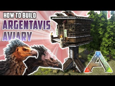 How To Build An Argentavis Aviary | Ark Survival Evolved