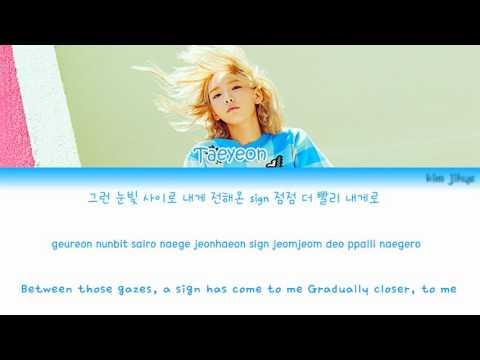 Taeyeon (태연) – Hands on Me Lyrics (Han|Rom|Eng)