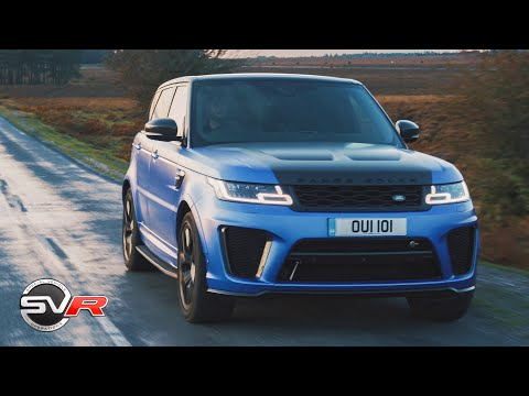 2019 Range Rover Sport SVR Review - The £100,000 575BHP Super SUV!