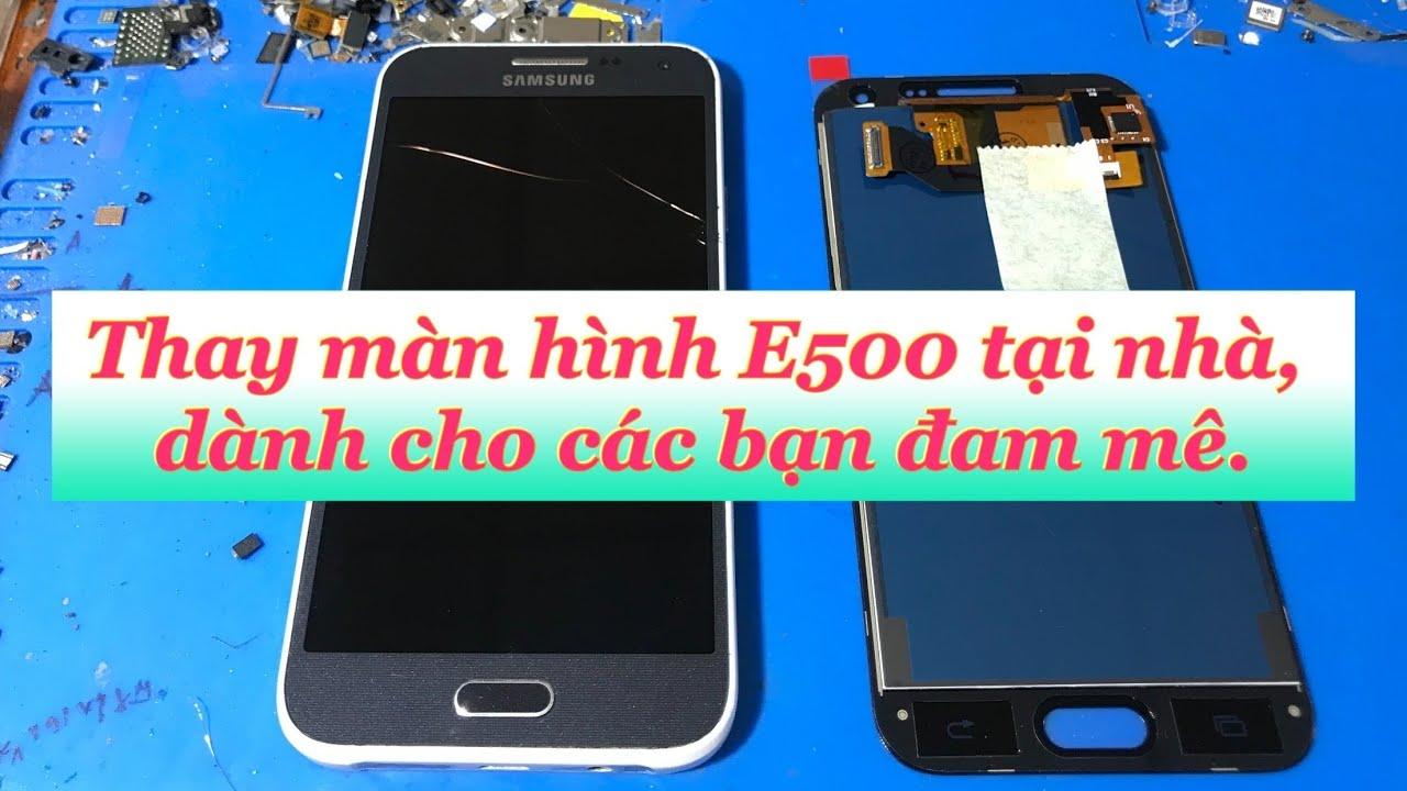 Tự thay màn hình E500. Cho các bạn đam mê.Replace screen Samsung E500