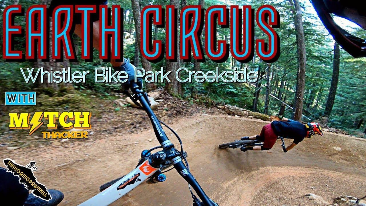 Mountain Biking in BC-Earth Circus Whistler Creekside-GoPro Hero 6 Karma Grip