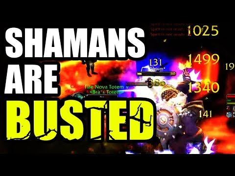 Shamans Are BUSTED!!! Should You Play A Shaman In Classic WoW PvP??