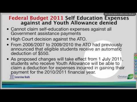 07 Self Education Expenses HECS HELP