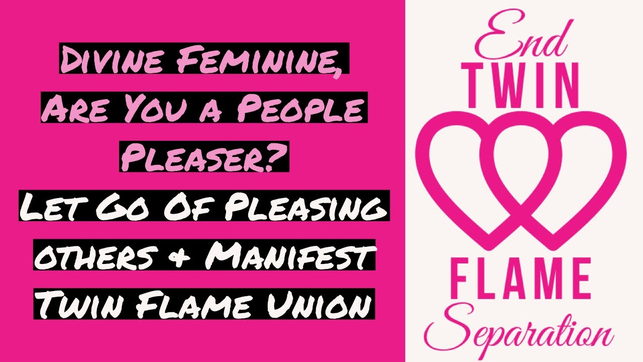 DIVINE FEMININE ARE YOU A PEOPLE PLEASER LET GO OF PLEASING
