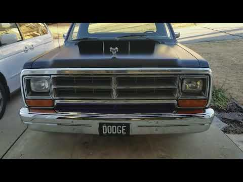 1986 Dodge D150 Truck