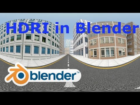 How To Render 360 Images In Blender.