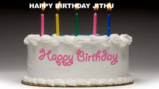 Jithu - Cakes Pasteles_515 - Happy Birthday