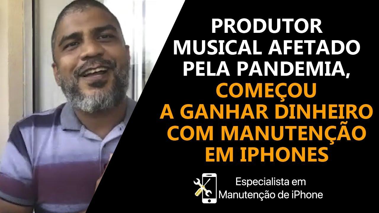 Músico começou a ganhar dinheiro com manutenção em iPhones || Talk com André Xexeu