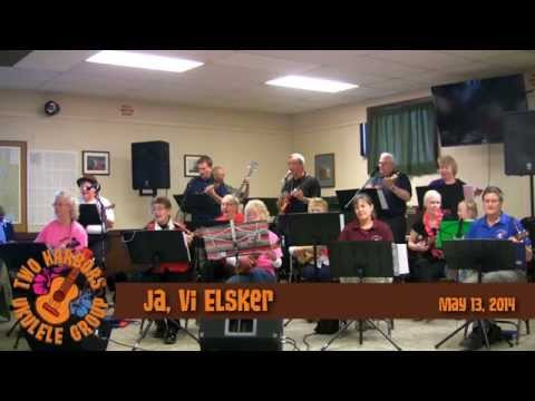 """Ja, Vi Elsker"" Two Harbors Ukulele Group 