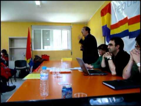 Asamblea de Republicanos: intervención de Pedro García Bilbao