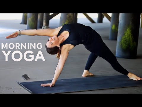 20 Minute Morning Yoga (For Energy) | Fightmaster Yoga Videos
