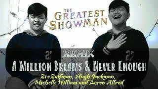 Download Lagu A Million Dreams mix Never Enough fr. THE GREATEST SHOWMAN soundtrack | BONACOVERING#3 Mp3