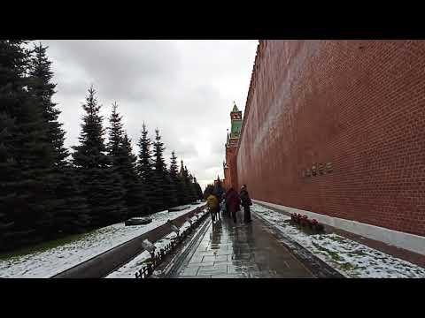 . Москва. Кремлевская стена. 25 января 2020 г.