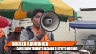 MARINO VISITA MERCADO DE HUMAYA EN EL DISTRITO DE HUAURA