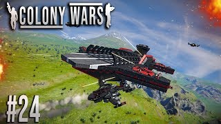 Space Engineers - Colony WARS! - Ep #24 - OPERATION: Return!