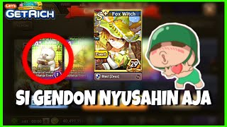"WELCOME NEW CARD ""FOX WITCH"" 