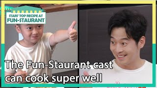 The Fun-Staurant cast can cook super well (Stars&#39 Top Recipe at Fun-Staurant)  KBS WORLD TV 201124