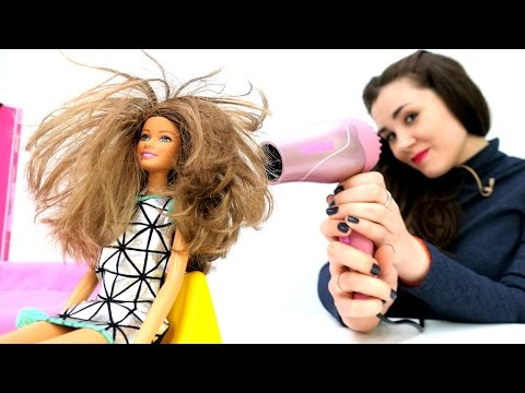 Игры Барби Макияж и Одевалки (Beach Barbie Facial Makeover)