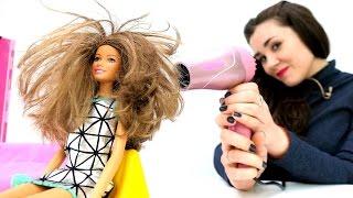 ОДЕВАЛКИ: Барби меняет имидж: прическа и платье