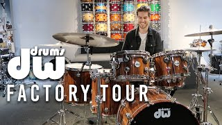 DW DRUMS FACTORY TOUR 2020