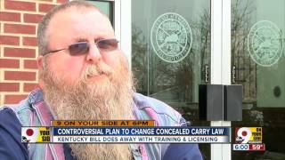 controversial plan to change concealed carry law