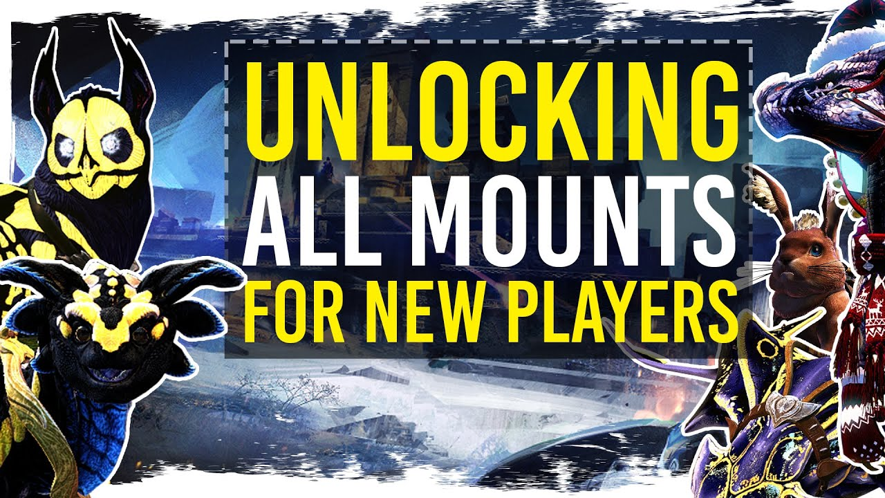 Guild Wars 2 - Unlocking All Mounts - New Player Guide thumbnail