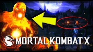 Mortal Kombat X: BLAZE Easter Egg/Cameo Appearance and The NEW Pit Stage Breakdown! (Kombat Pack 2)