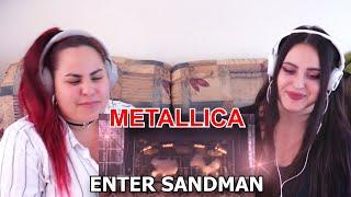 AMAZING! Two Sisters REACT To Metallica - ENTER SANDMAN (Moscow 1991)!! / REACTION