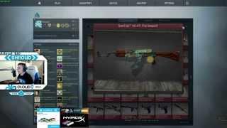 Verkleidung | ST AK-47 FIRE SERPENT TRADE-UP