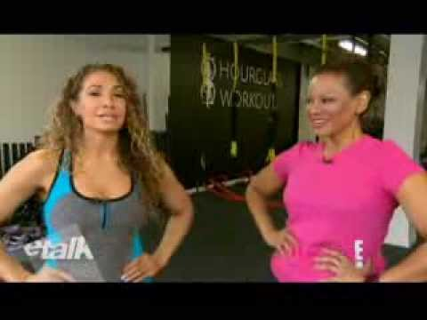 etalk - How to get a Beyonce Booty with Lyzabeth Lopez