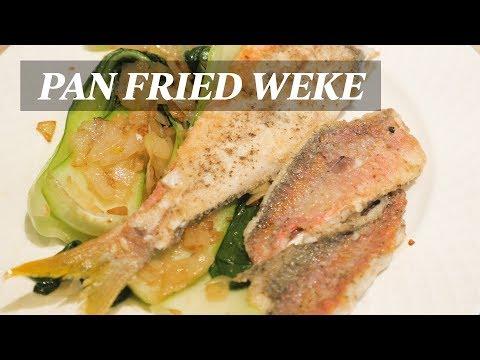 How To Make Pan Fried Fresh Weke (Goat Fish)