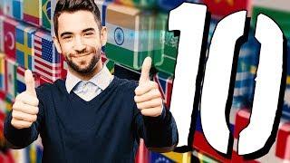 10 NAJPROSTSZYCH języków obcych [TOPOWA DYCHA]