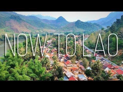 Travel Laos: Epic 9hr Drive from Muang Sing Northern Laos to Luang Prabang - Now to Lao Travel Vlogs