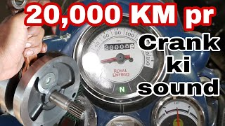 crank sound in 20,000 km's | royal enfield |ncr motorcycles | Video